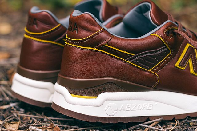 Horween Leather New Balance Pack 5