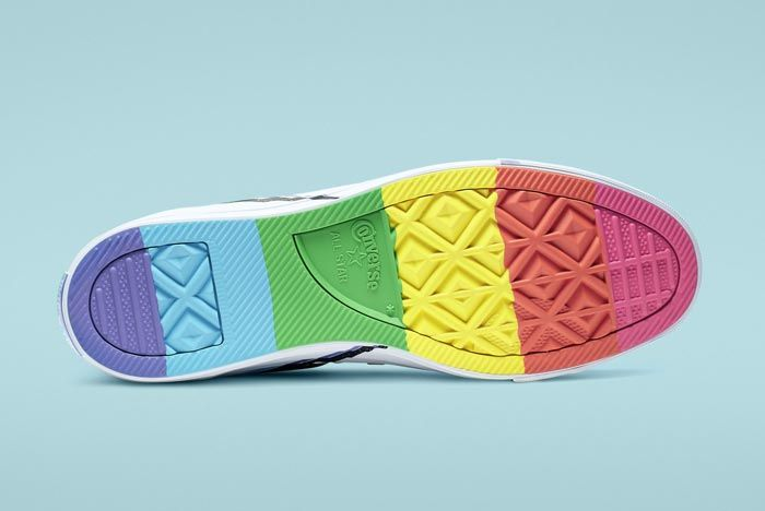 Chuck Taylor All Star Pride High Top Outsole
