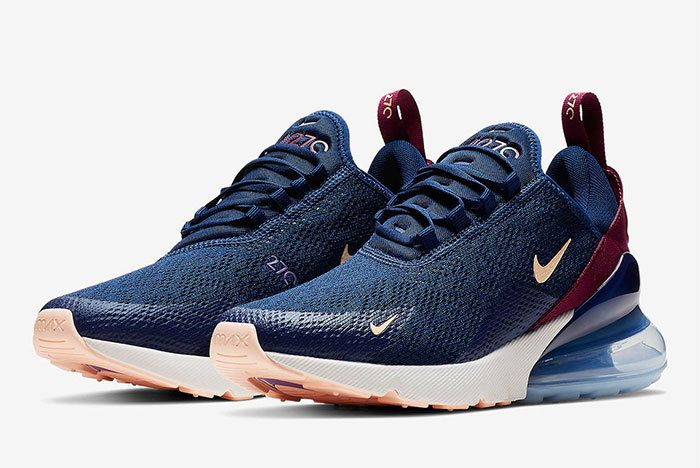 Nike Air Max 270 Wmns Blue Void Ah6789 402 5