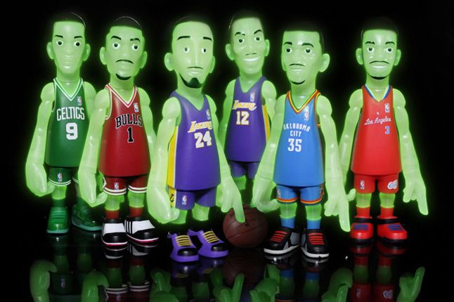 Bait Mindstyle Coolrain Nba Glow In The Dark Figure Pack 1