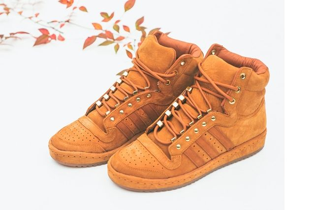 Adidas Originals Top Ten Hi Fox Red 2