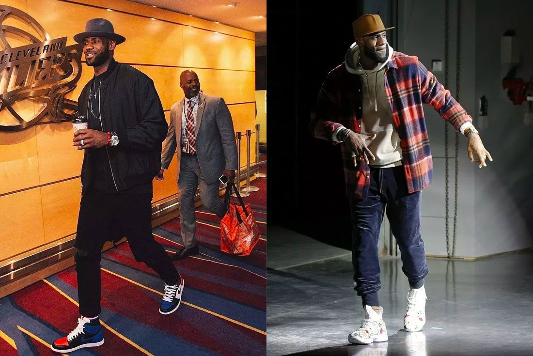 Nike Lebron 15 Kith