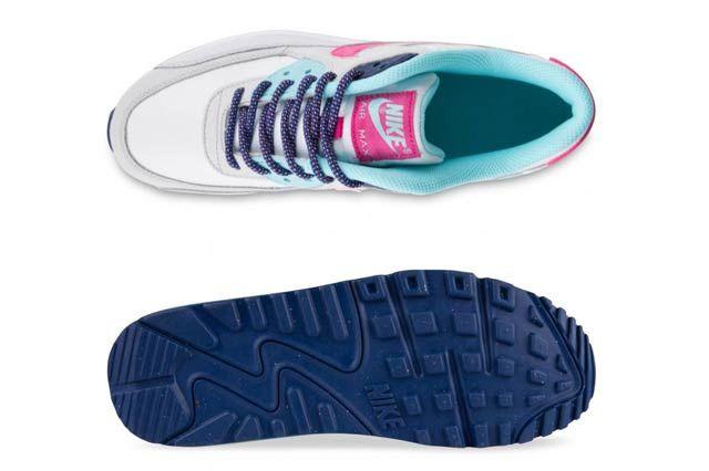 Nike Air Max 90 Gs Vivid Pink4