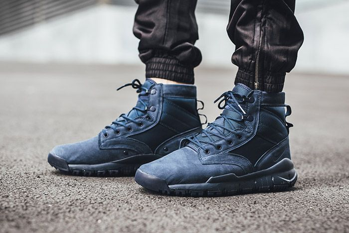 Nike Sfb Leather 6 Inch Navy 1
