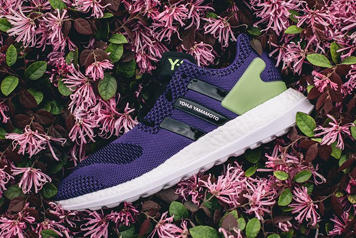 Adidas Y 3 Pure Boost Zg Knit Purplegreen