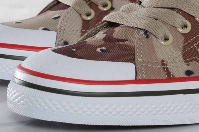 Adidas Nizza Classic78 Desert Camo Toe Detail 1