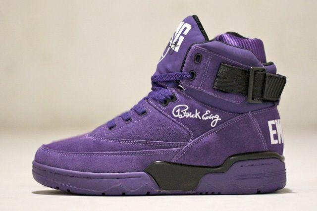 Ewing Athletics 330Hi Purple Suede 6