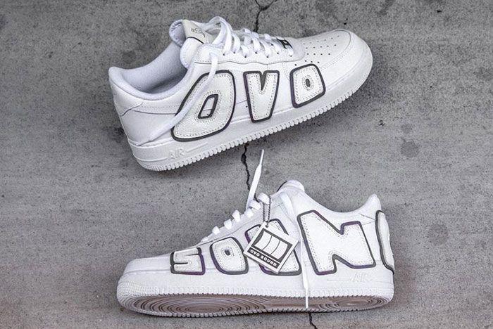 Drake Nike Air Force 1 Ovo Sound