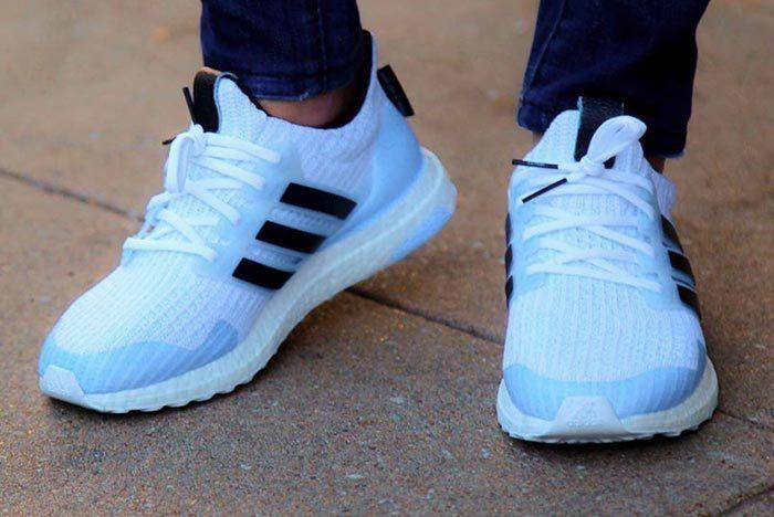 Got Adidas White Walker Ultraboost 3