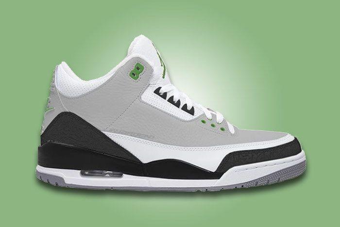 Air Jordan 3 Chlorophyll 1