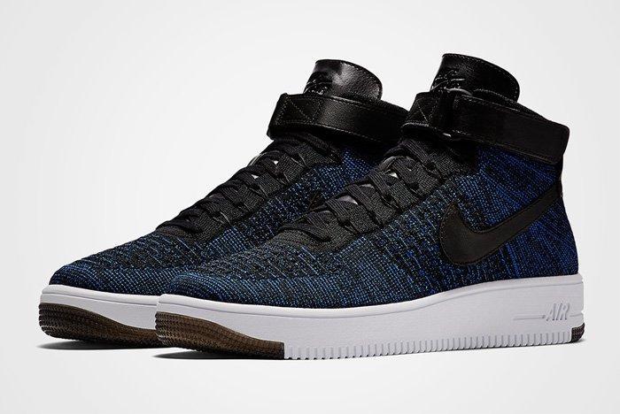 Nike Air Force 1 Ultra Flyknit Royal Blue 1