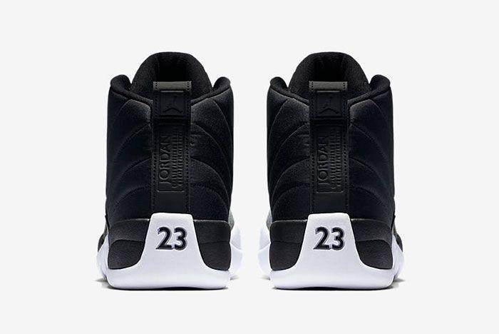 Air Jordan 12 Black And White 7