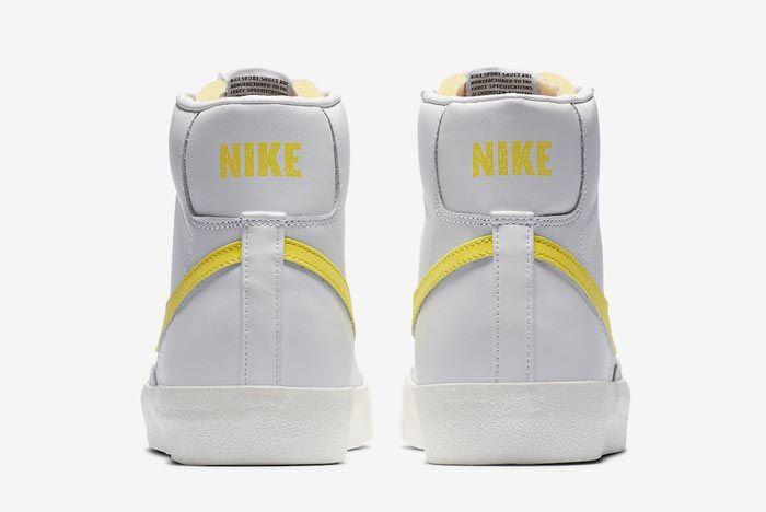 Nike Blazer Mid 77 Opti Yellow Heels