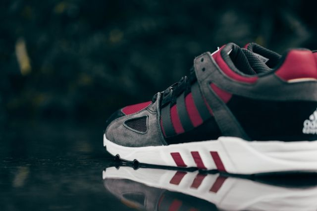 Adidas Eqt Running Guidance Support 93 Core Black Rust Red 3