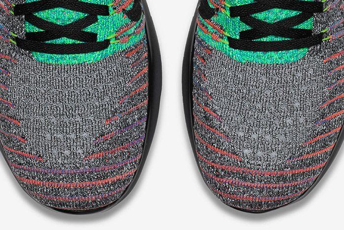 Nike Free Rn Flyknit Grey Multi 8