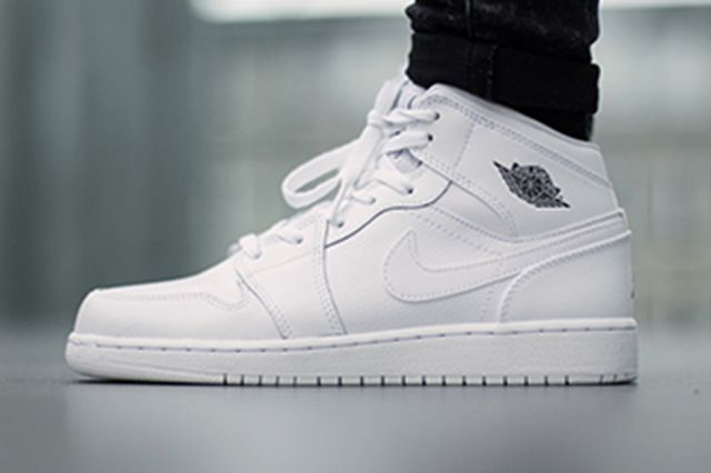 Air Jordan 1 Bg White Cool Grey 3