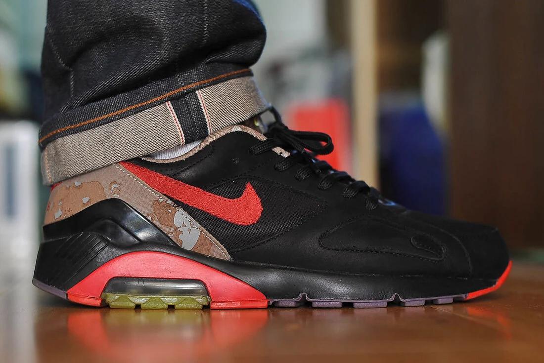 Nike Air 180 Opium On Foot