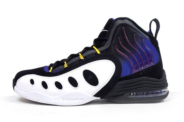 Nike Sonic Flight Purple Yellow 4