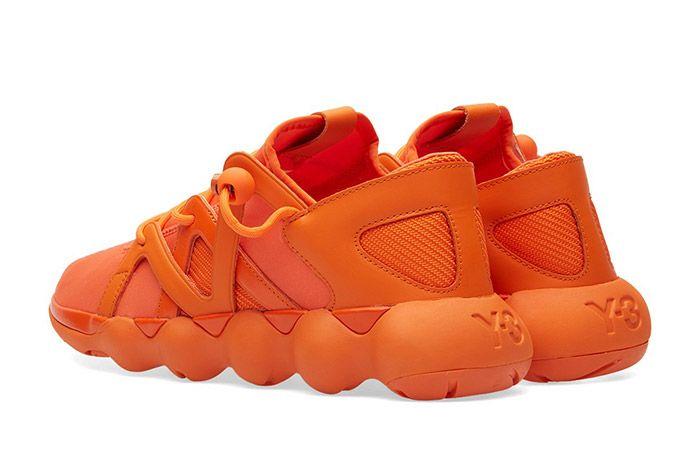 Adidas Y3 Kyujo Low Orange 3
