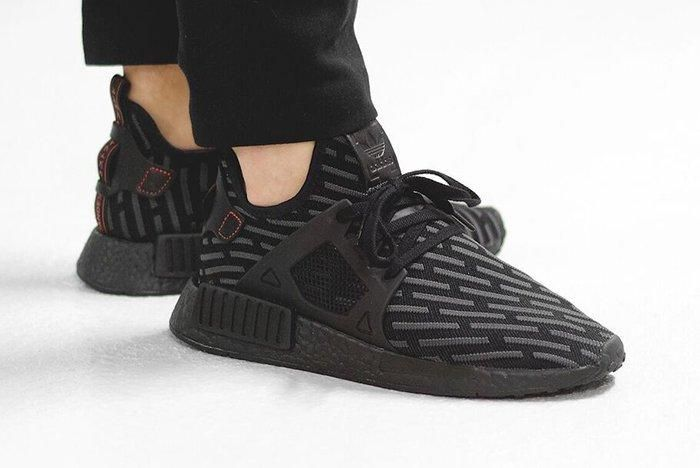 Adidas Nmd Xr1 Black Red12