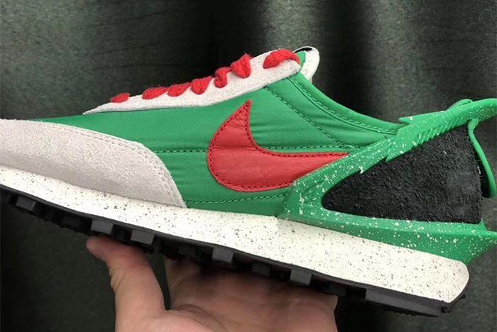 Undercover Nike Daybreak Green Close Up
