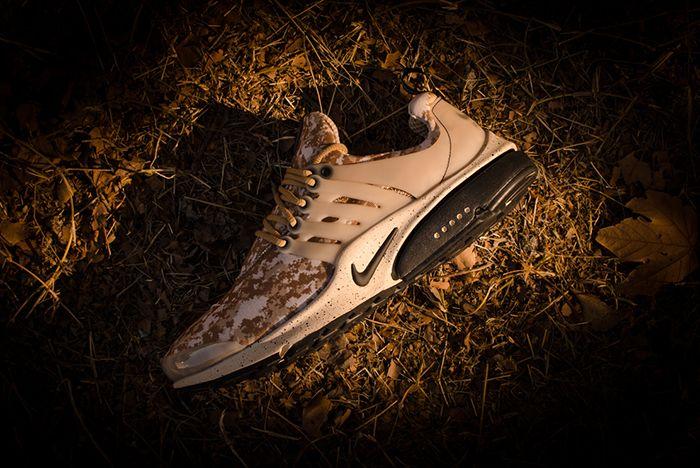 Cartas credenciales Calamidad Feudal  Nike Air Presto Gpx (Desert Digi-Camo) - Sneaker Freaker