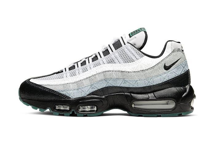 Nike Air Max 95 Day Of The Dead 2019 Ct1139 001 Release Date Lateral