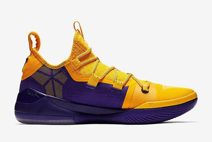 Nike Kobe Ad Lakers Gold Ar5515 700 2