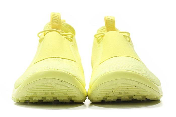 Nike Air Current Slip On Trooper Lemon Chiffon Yellow 2