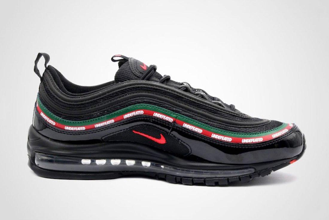 Undefeated X Nike Air Max 97 2 1