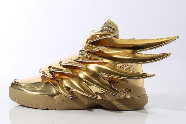 Adidas Originals By Jeremy Scott Wings 3 Gold 2