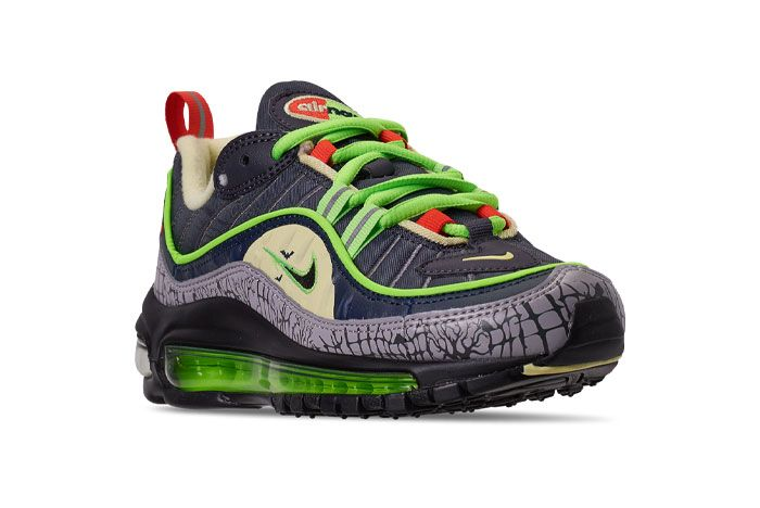 Nike Air Max 98 Halloween Ct1171 001 Front Angle