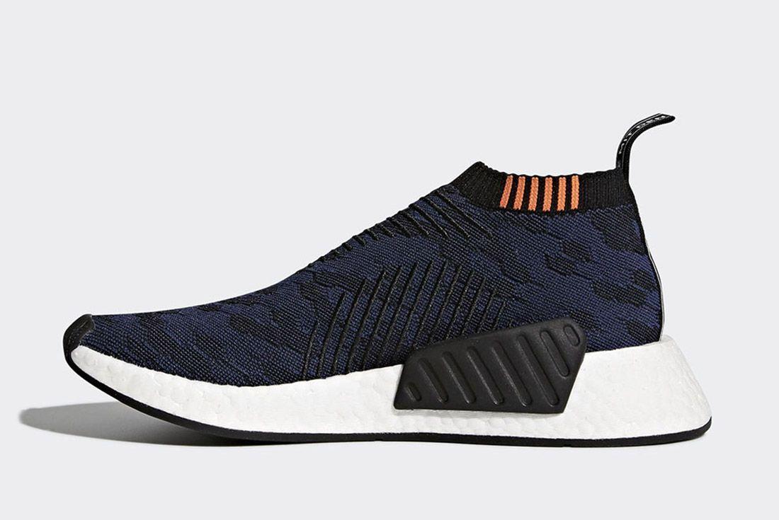 Adidas Nmd Cs2 Core Black Noble Indigo White Sneaker Freaker 6