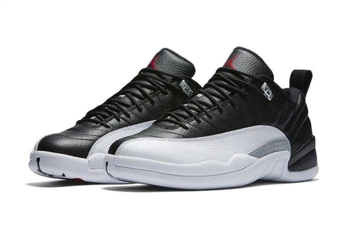 Air Jordan 12 Low Playoffs4
