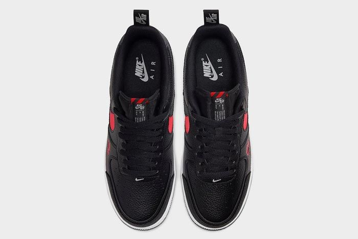 Nike Air Force 1 Lv8 Utility Black Red Top