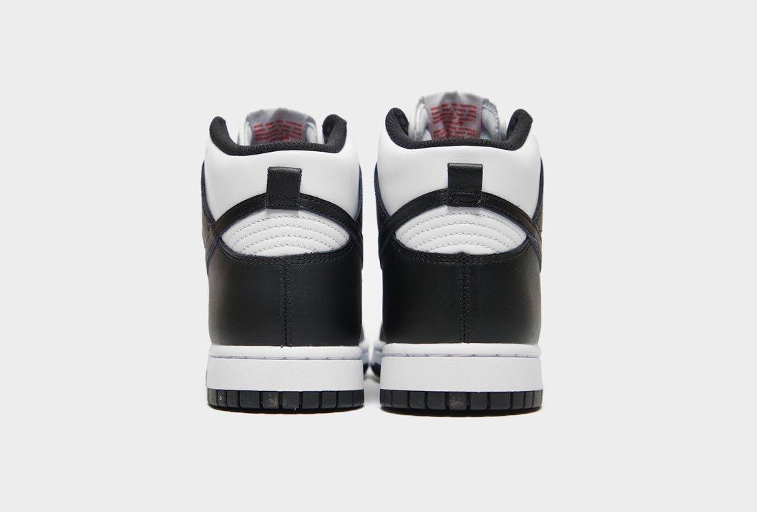 Nike Dunk High Black/White