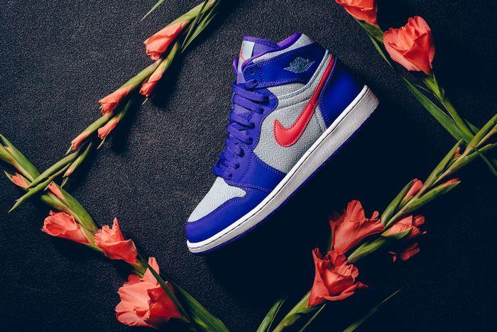 Air Jordan 1 High Fierce Purple 6