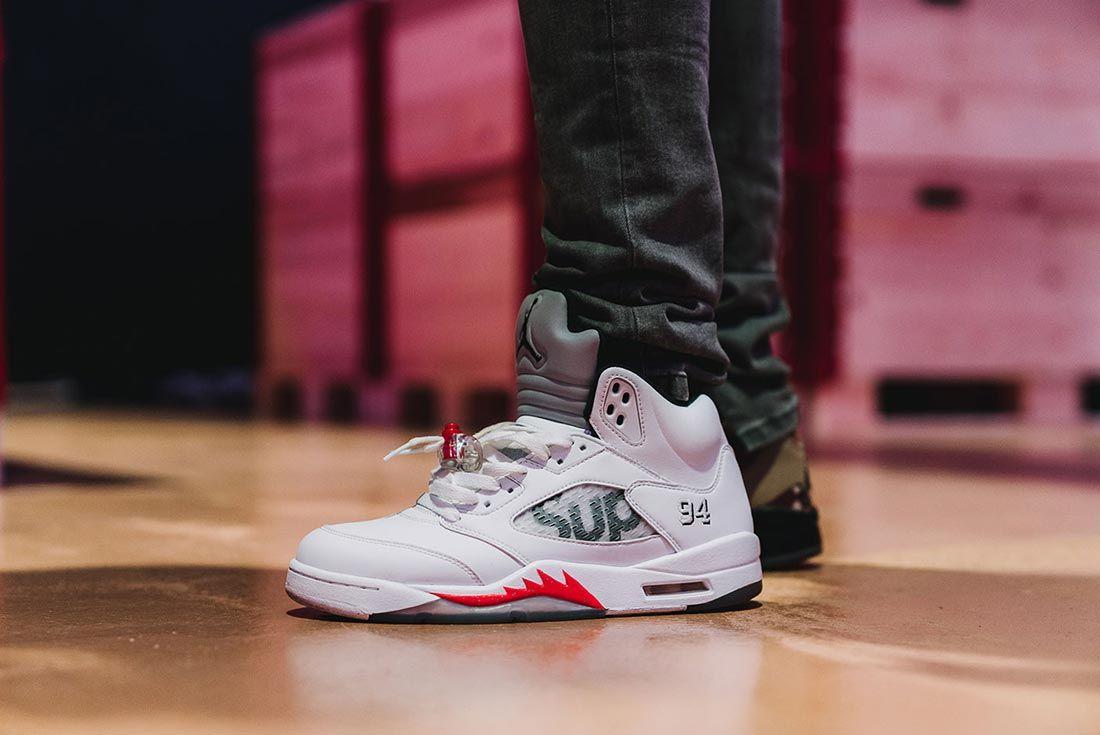 Sneakerness Even Recap Supreme Air Jordan On Foot