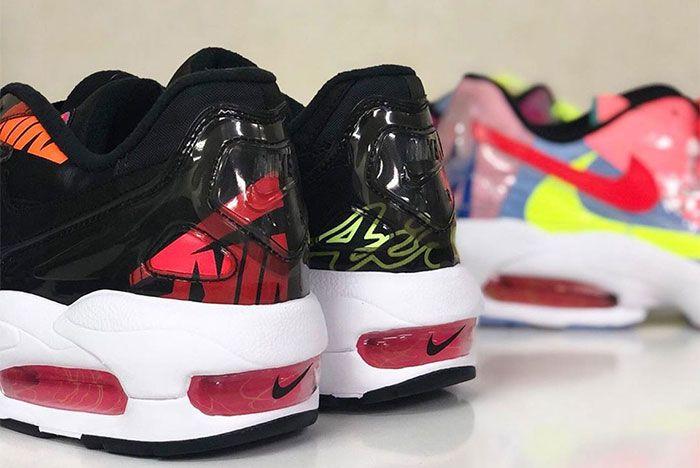 Atmos Nike Air Max 2 Light Black Heel 2