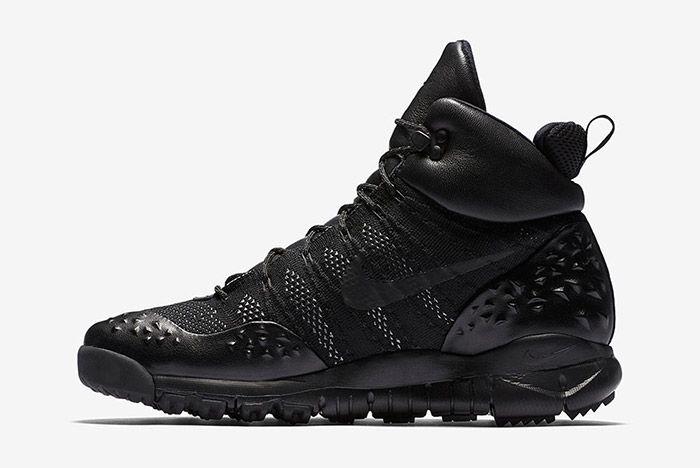Nike Acg Lupenik Flyknit All Triple Black 5