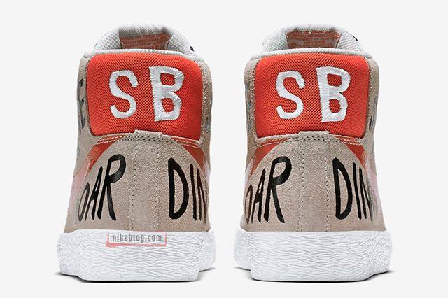 Geoff Mcfetridge X Nike Sb Blazer Mid3