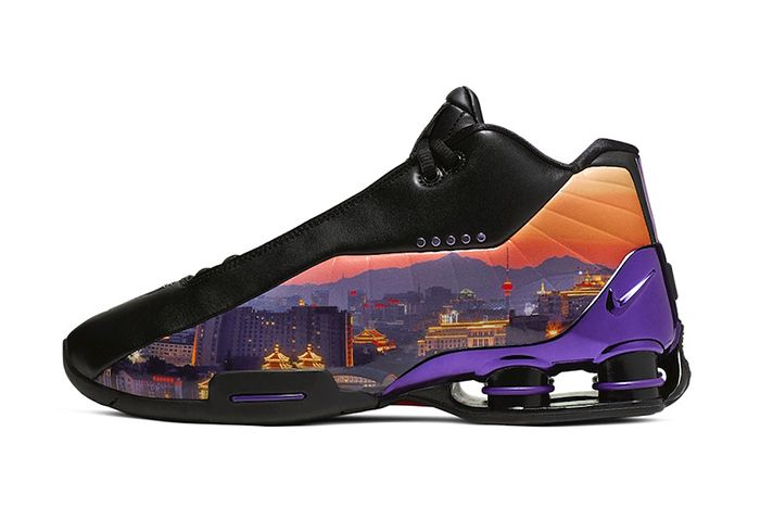 Nike Shox Bb4 China Hoop Dreams Release Date Lateral