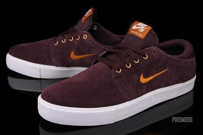 Nike Sb Team Edition Red Mahogany 02 1