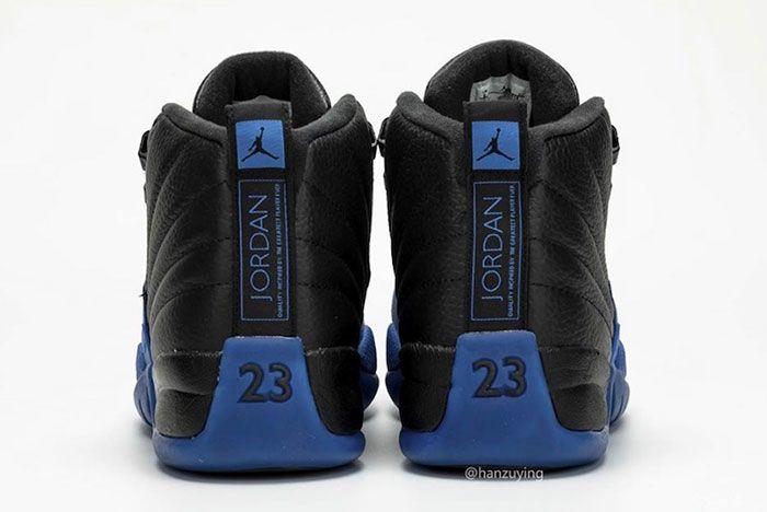 Air Jordan 12 Black Game Royal 130690 014 2019 Release Date 7 Heel