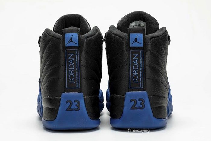 Air Jordan 12 Black Game Royal 130690 014 2019 Release Date 7 Heel