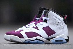 1 Air Jordan 6 Bright Grape Main