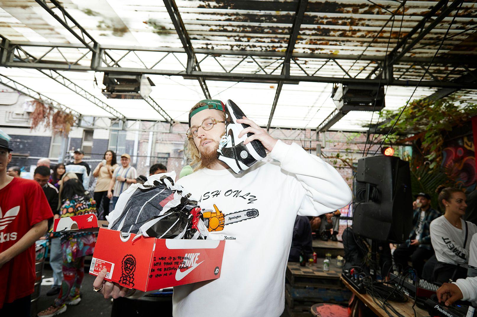 jd sports shockdrops event photos sneaker freaker