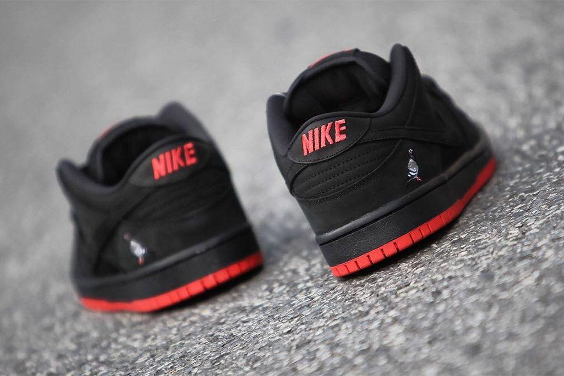 Nike Dunk Low Sb Black Pigeon18