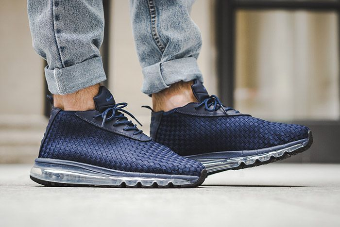 Nike Air Max Woven Boot Midnight Navy Blue 2