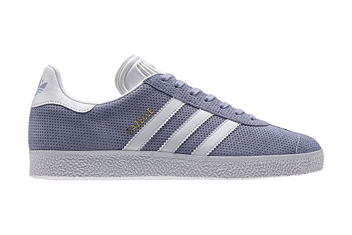 Adidas Gazelle Perforation Purple 2